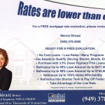 Realtor ad offers real estate and mortgage